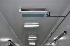 Entrepôt frigorifique,douze chambres froides
